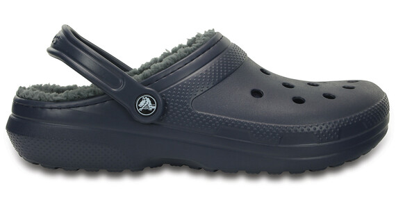 Crocs Classic Lined Clogs Unisex Navy/Charcoal